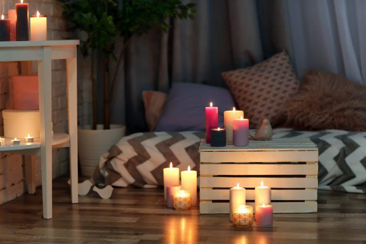 Qualche candela ed è subito relax!